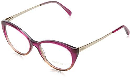 Emilio pucci ep5063 occhiali da sole, viola, 53.0 unisex-adulto