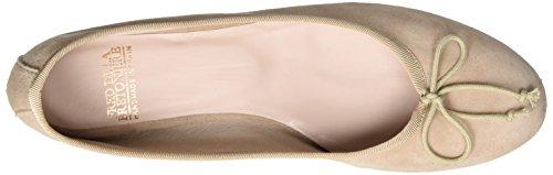 Fred De La Bretonnière Fred de la Bretoniere Ballerina Suede, Ballerines femme Pink (Soft Rose)