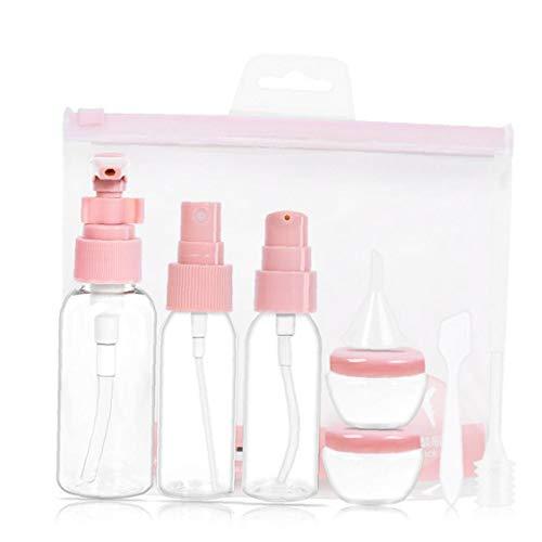 1set Transparent Reisen Schäumende Seifenspender Leeren Schäumende Flüssigseife Pumpe Flaschen Für Reisen (Pink) (Schäumende Flüssigseife Pumpe)