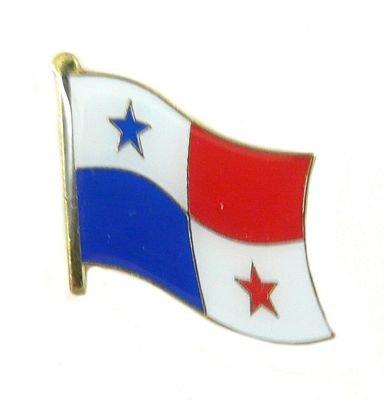 Flaggen Pin Panama Pins Anstecknadel Fahne Flagge FLAGGENMAE® (Flagge Panama Pin)