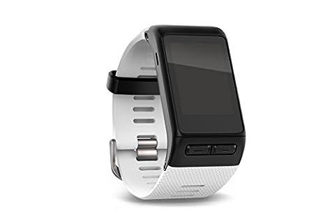 Garmin vívoactive HR Sport GPS-Smartwatch (integrierte Herzfrequenzmessung am Handgelenk, diverse Sport Apps) - Weiß - inklusive gratis Wechselarmband