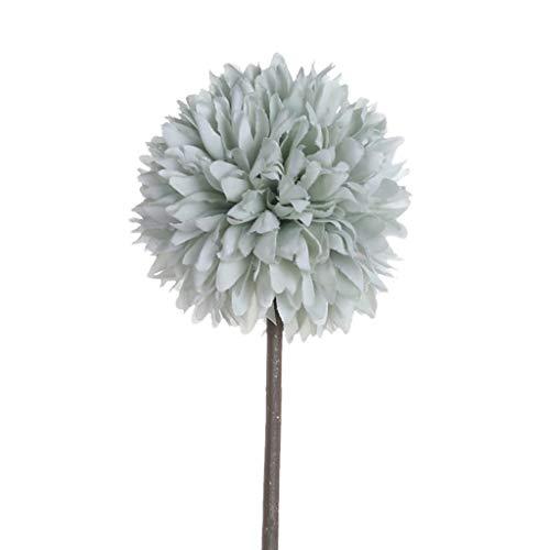 SuperSU Kunstblumen ►▷ 1 Stück kunstblumen Löwenzahn/Einzel-Zweig Gefälschte Blumen/Hochzeit Wohnzimmer Hotel DIY Dekoration/Party Dekoration/Blumenschmuck/kunstpflanzen