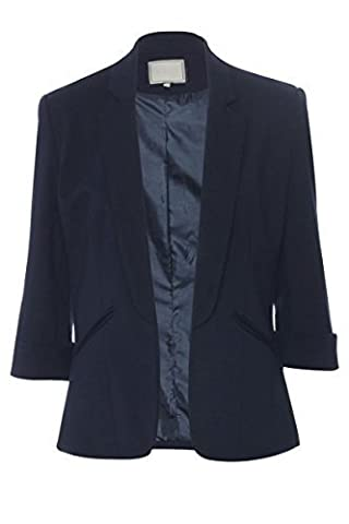 CelebLook Stylish Foldable Sleeve Blazer 3/4 Length Turn Up Sleeves Collection!