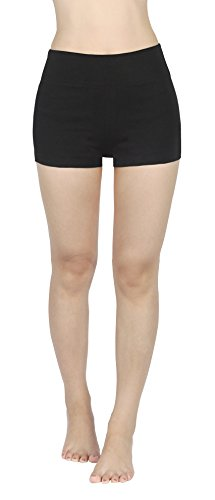 4How Joggings damen hosen sport Stretch Legging Schwarz Strumpfhose jogginghosen, S