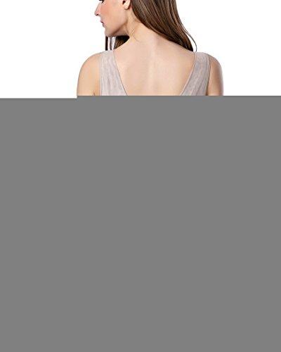 Feoya - Guaina Contenitiva e Modellante Body Modellatore Donne Dopo Postpartum Body Contenitivo Shapewear con Cinghia Mutandine Facile da Indossare e Andare in Bagno Beige