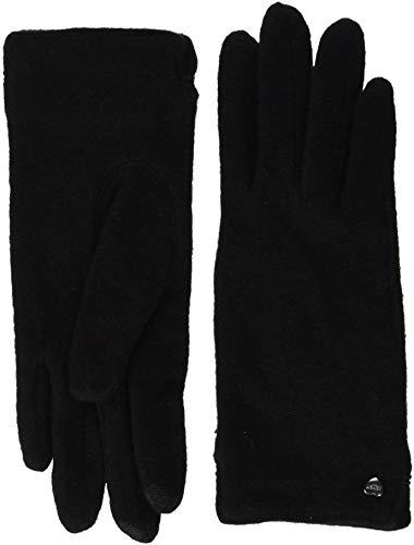 ESPRIT Accessoires Damen Handschuhe 098EA1R001, Schwarz (Black 001), Large