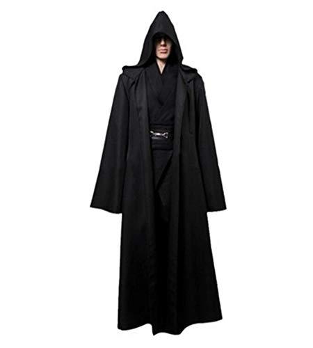 Samt Gefallen Kostüm - MYLJX Cosplay Kleidung Mantel Ritter Hoodie Mantel Halloween Cosplay kostüm Cape für erwachseneUmhang-XL