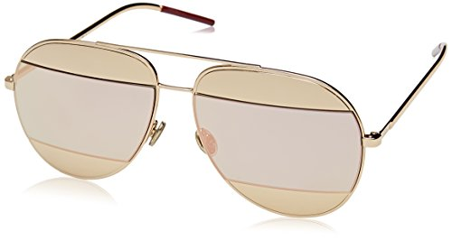 Dior Damen Diorsplit1 0J Sonnenbrille, Schwarz (Rose Gold), 59