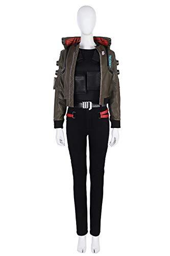 Karnestore Cyber Punk 2077 Mädchen Cosplay Kostüm Outfit Damen - Cyber Mädchen Kostüm
