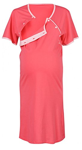 Happy Mama Maternity Gown Robe Nightie for Labour & Birth. SOLD SEPARATELY 393p Test
