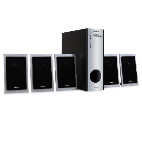 oneConcept NHT-1051 5.1 Surround Soundsystem PC Audio/DVD/Heimkino Subwoofer