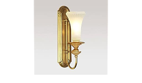 Applique in ottone vetro europ elegante in classiche am ricain