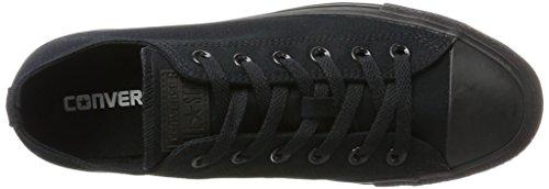 Converse Chuck Taylor All Star, Unisex – Erwachsene Sneaker, Schwarz (Black Mono), Gr.43 EU - 7