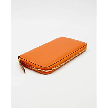 SOOFRE Berlin Leder Portemonnaie, Damen Geldbörse, Brieftasche, Geldbeutel, Organizer, Wallet – Orange   Khaki