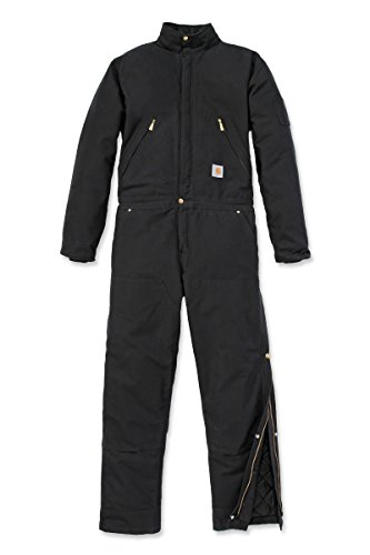 Carhartt Men Coverall Bibs Coveralls Duck Coverall Quilt Lined 2