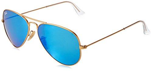 ray-ban-unisex-sonnenbrille-aviator-gr-large-herstellergrosse-55-gold-gold-112-19
