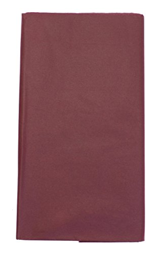 CI 17GSM Krepppapier 50x 76cm Super Wert Tissue Packungen, weinrot