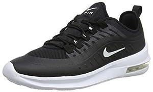 Nike Herren AIR MAX AXIS Sneakers, Schwarz (Black/White 001), 44.5 EU