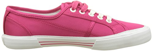 Pepe Jeans London Aberlady Satin, Baskets Basses Pour Femmes Rose (disco Pink)