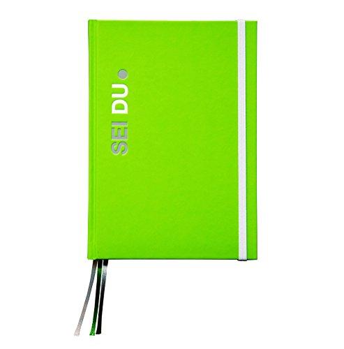 SEI DU | Life-Coach-Kalender | Persönlicher Begleiter und Organizer zur Persönlichkeitsentwicklung | Life Guide, Tagebuch, Kalender und Notizen | In einfachen Schritten zu mehr Selbstvertrauen (Grün)
