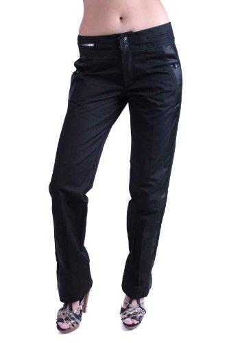 Diesel Pantaloni Donna Chino Columba Nero #12 - Nero, Nero, 26W / 34L