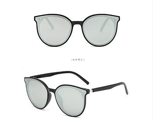 KOMNY Sonnenbrille Mode koreanische Version der Marke Trend V mit der gleichen Sonnenbrille, B