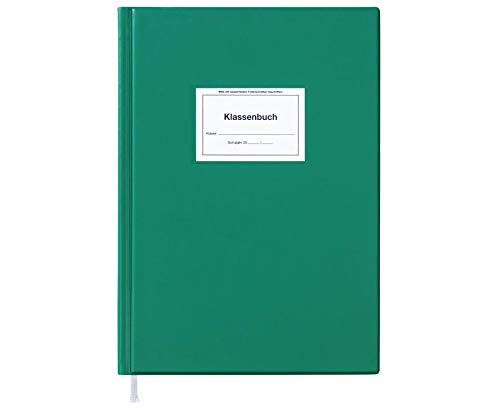 Klassenbuch Standard DIN A4 mit grünem Einband
