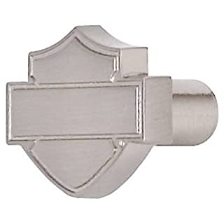 Ace Product Management Group HDL-10113 Brushed Nickel Bar & Shield Silhouette Cabinet Knob - Quantity 25 by Ace Product Management Group