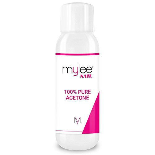 Mylee 100% Pure Acetone 570ml Superior Quality Nail Polish Remover UV/LED GEL Soak Off