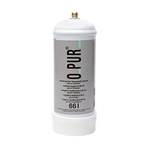 O-Pur Sauerstoff Einweg Stahlfl. 66l, Nachfüllflasche