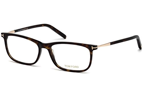 Preisvergleich Produktbild Tom Ford - FT 5398, Rechteckig, allgemein, Herrenbrillen, DARK HAVANA(052), 55/16/145