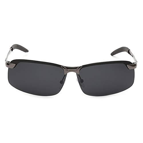 Kingmia Sonnenbrillen, Polarized HD Objektiv Brille Verschleißfester Kunststoff für Fahren, Draussen, Sport, 1paar