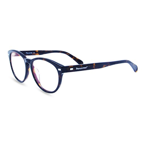 [Computer Lesen Eyewear] Pavoscreen® Advanced Lesung Gaming Brille (Augen Schutz) Entlastung der Augen vor Müdigkeit, und verwackelte Vision Classic Frames