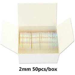 Hoja del arco iris del brillo Línea de cinta de rayas 3D Uñas línea pegatinas decoración , 2#