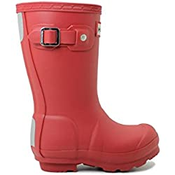 Hunter Original Kids Junior Military Red Rubber 34 EU