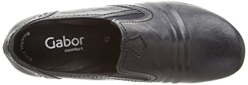 Gabor Emerge, Damen Slipper Blau (dark Blue Leather)