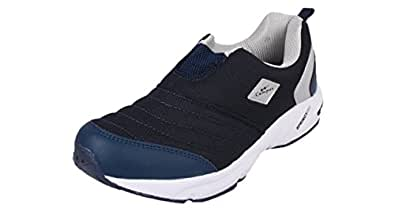 Campus MONTAYA Model, Navy and Silver Color Men Sports Running Shoes (Size -10 UK)