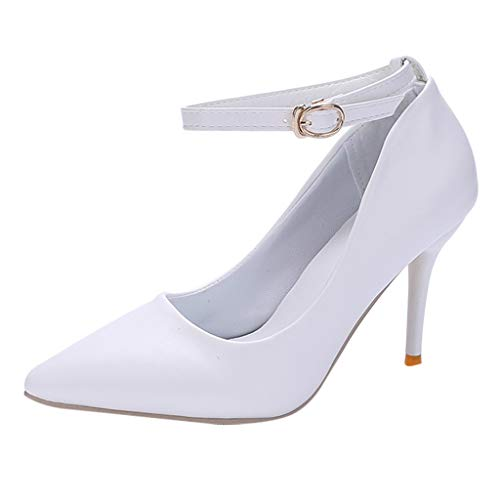 f8529f6f5f306 Women Pumps Heels Sexy Pointed Toe Thin Heels Wedding Shoes Sexy Party  Shoes by LuckyGirls
