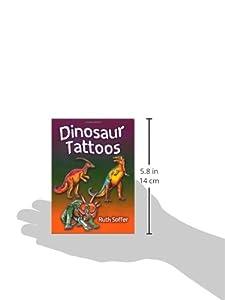 Dinosaur Tattoos (Dover Tattoos) de Dover Children's