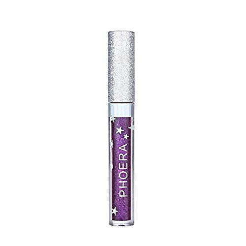DEELIN Lippenstifte Liquid Matte Lipstick Dauerrhaft Lip Liner Make up, Rainbow Matte to Glitter...