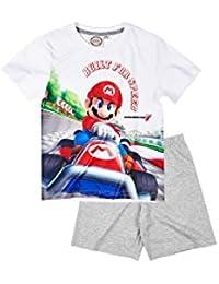 Mario Bros - Pijama dos piezas - para niño