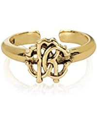 Roberto Cavalli Women's GQG743AM00100170 Gold Metal Ring
