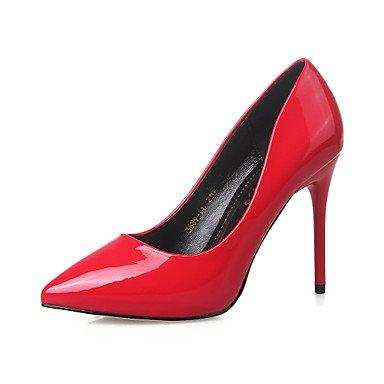Moda Donna Sandali Sexy donna tacchi Easy Street Asakuchi 3,94 pollici ad alta Stiletto Punta pompa/scarpe/Abbigliamento Casual/Festa&Sera gray