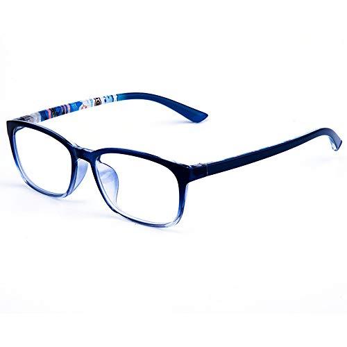 XCYQ Brillengestell Square Small Face Brillengestell Männer Und Frauen Presbyopische Optische Rahmen, C