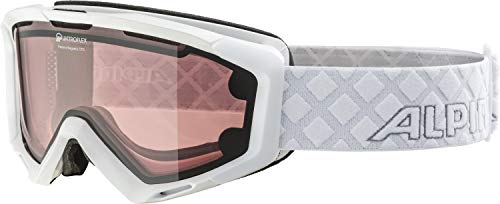 Alpina Erwachsene Skibrille Panoma Magnetic QL. white, One Size