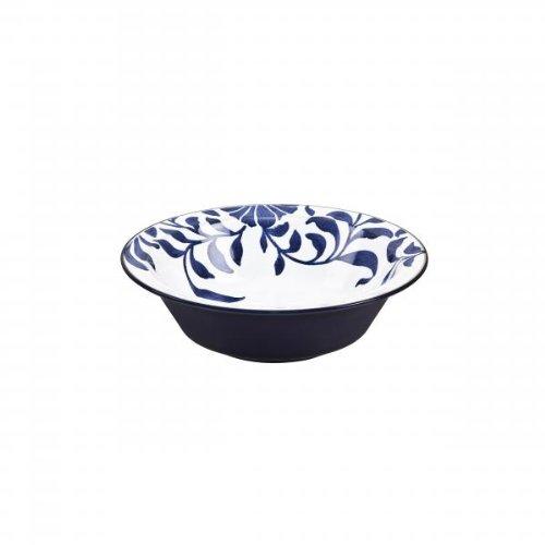 Denby Malmo Bol pour Soupe et céréales Motif Floral Bleu