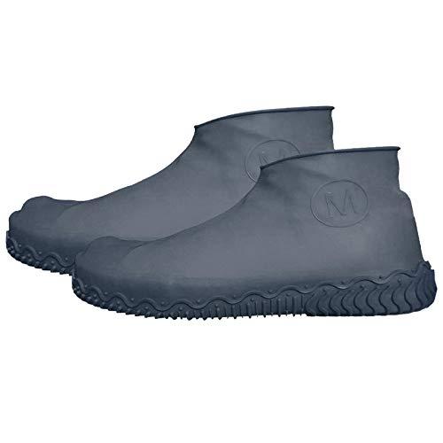 Mingrong copriscarpe impermeabili in silicone copriscarpe antiscivolo riutilizzabili copriscarpe antipioggia protezioni estensibili per lavoro all'aperto