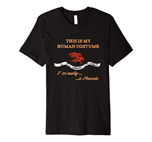 This Is My Echthaar Kostüm Ich bin wirklich Phoenix Halloween ()