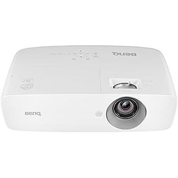 BenQ W1090 3D Heimkino DLP-Projektor (Full HD, 2000 ANSI Lumen, Kontrast 10000:1, HDMI, MHL) weiß