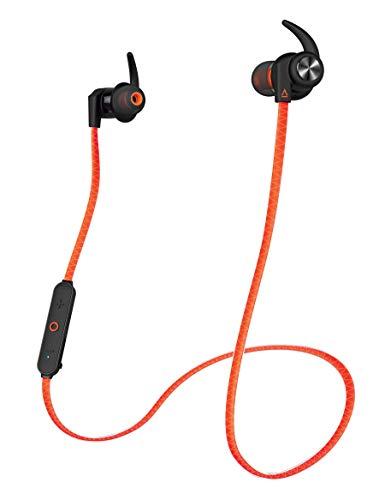 Creative Outlier Sports - Kabellose , Schweissresistente In-Ear Kopfhörer, orange Orange Bluetooth